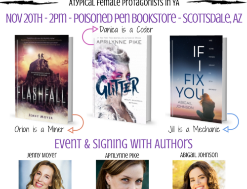 Join me, Aprilynne Pike, & Jenny Moyer on 11/20 at The Poisoned Pen