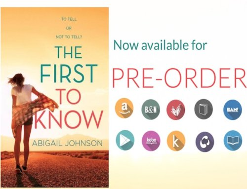 THE FIRST TO KNOW is available for Pre-Order!