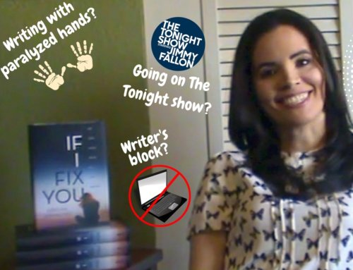 Q&A | Writing w/ paralyzed hands? Going on The Tonight Show? Writer's block?