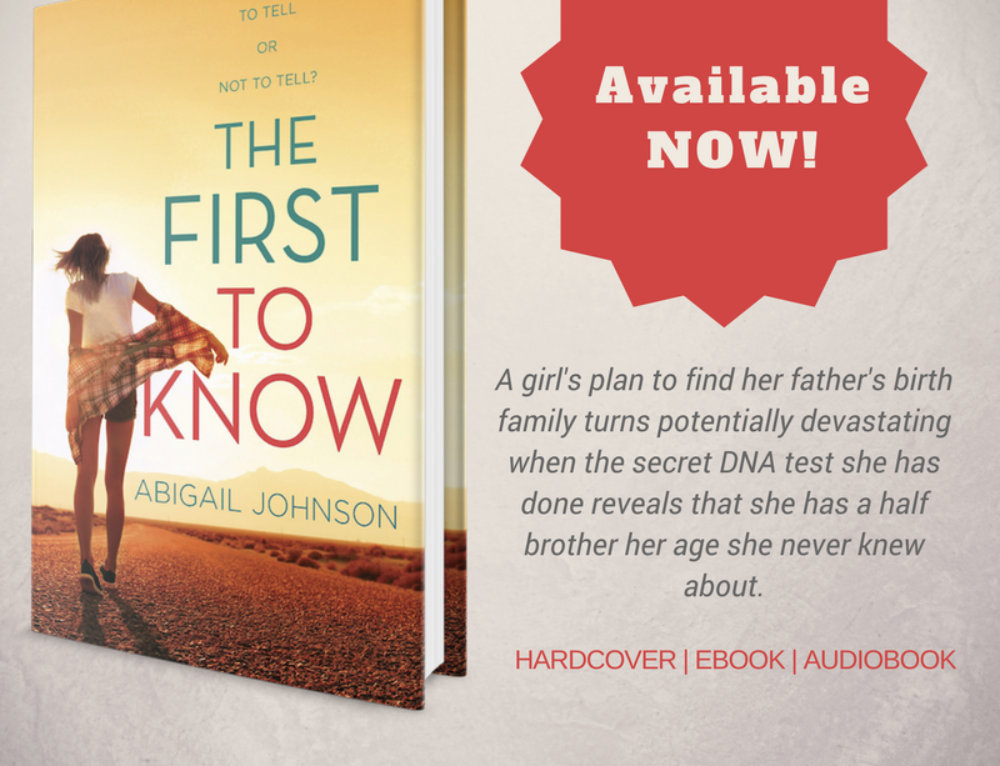 Happy Book Birthday to The First To Know!